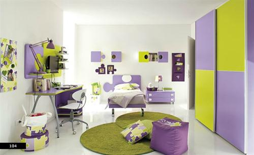 My Interior Design Diary: Designing In Green And Purple
