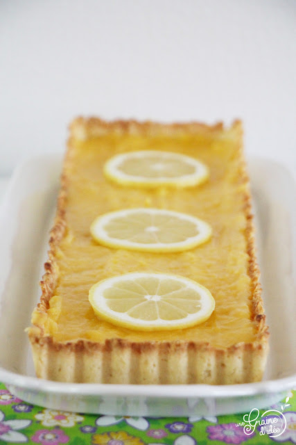 Tarte au Citron Allégée Recette Rapide Facile