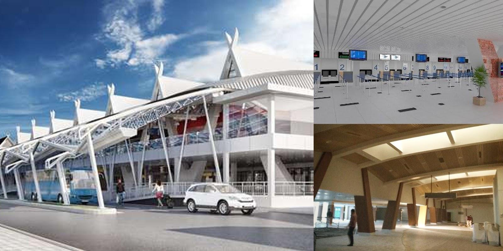 Tampilan Baru Bandara Bandung 2016 Setelah Direnovasi