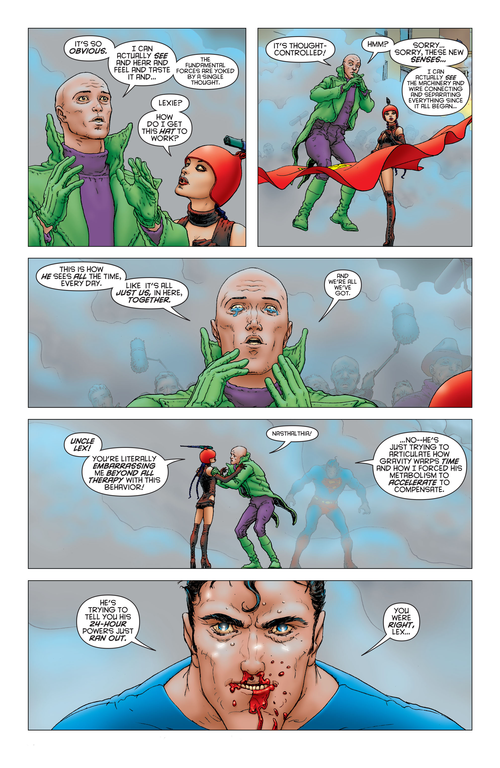 Read online All Star Superman comic -  Issue #12 - 16