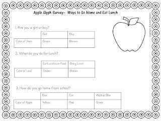 Sweet Tea Classroom Seasonal Glyphs For Kids Throughout The Year