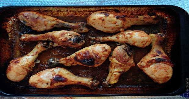Baked BBQ Chicken Legs Recipe