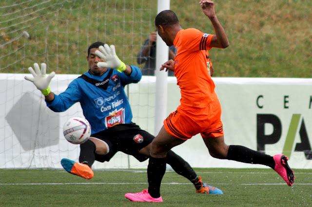 Doblete de Domingo Peralta en la victoria de Cibao FC sobre Bauger