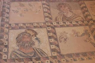 Mosaicos muy bien conservados en Chipre