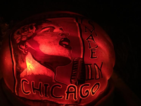 Music made in Chicago Jack O Lantern
