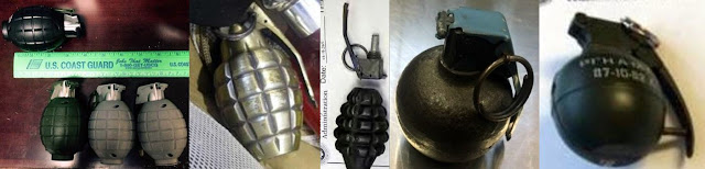 Inert grenades discovered at ABQ, SEA, FCA, SNA and GEG