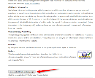 cara membuat privacy policy untuk melamar google adsense - blog