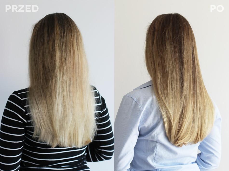 jak wzmocnić włosy po rozjaśnianiu