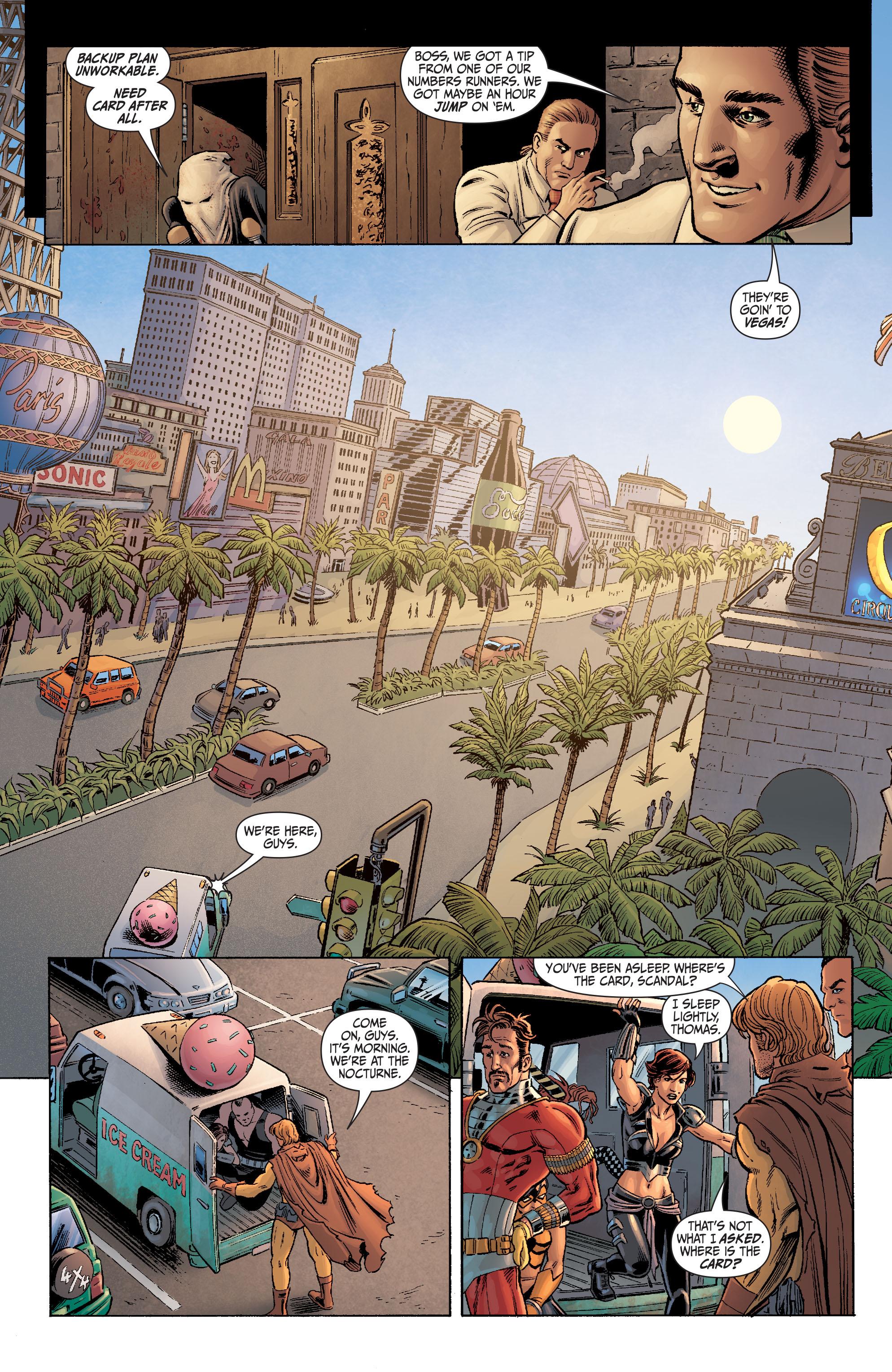 Read online Secret Six (2008) comic -  Issue #4 - 13