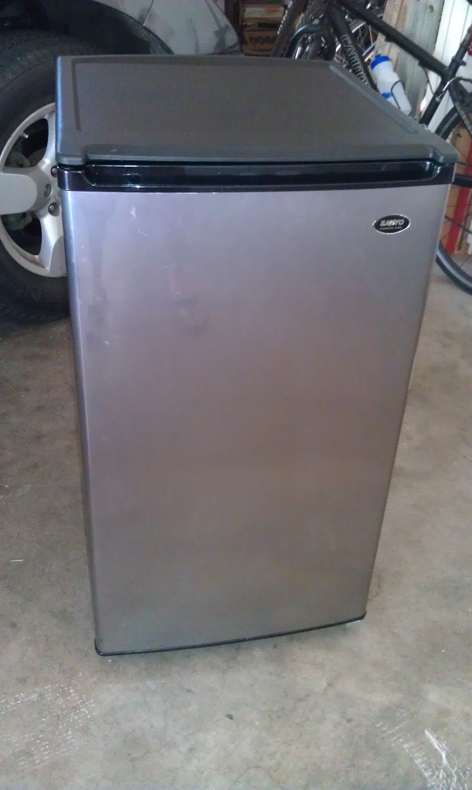 Sanyo Fridge Kegerator
