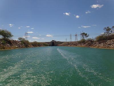 Eclusa da Usina Hidrelétrica de Sobradinho