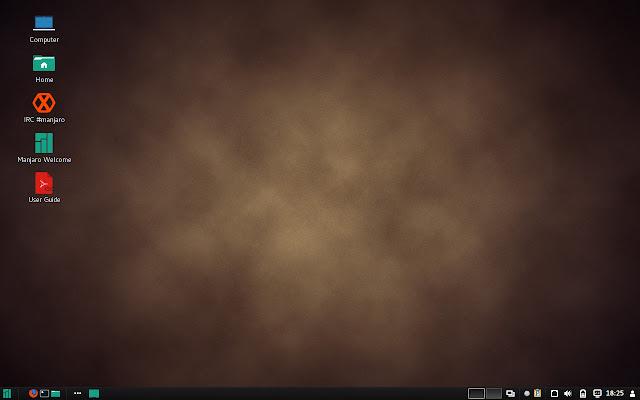 Manjaro Cinnamon Desktop