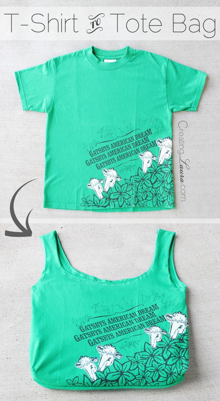 How to Make a T Shirt Bag