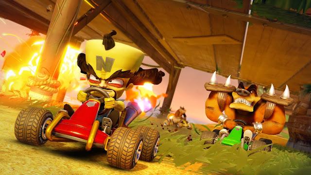 Gameplay Crash Team Racing-Nitro Fueled telah diperlihatkan