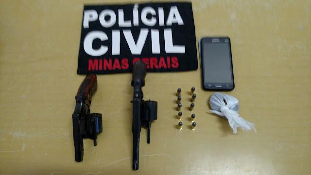Polícia Civil realiza operação na região do Barreiro e prende duas pessoas