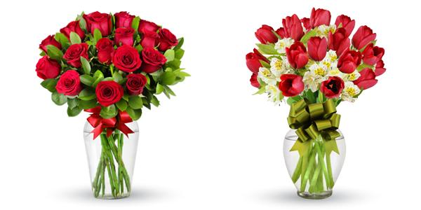 Rosas y Tulipanes