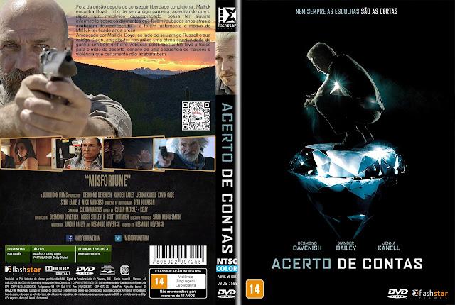 Capa DVD Acerto de Contas [Exclusiva]