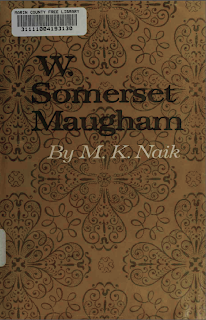cover of W. Somerset Maugham by M.K. Naik