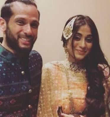 TV actress Soumya Seth and husband Arun