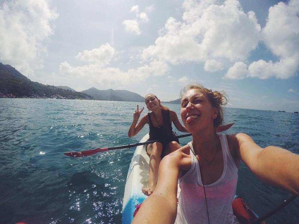 Koh Tao: Vom Norden in den Süden + Kayak fahren!