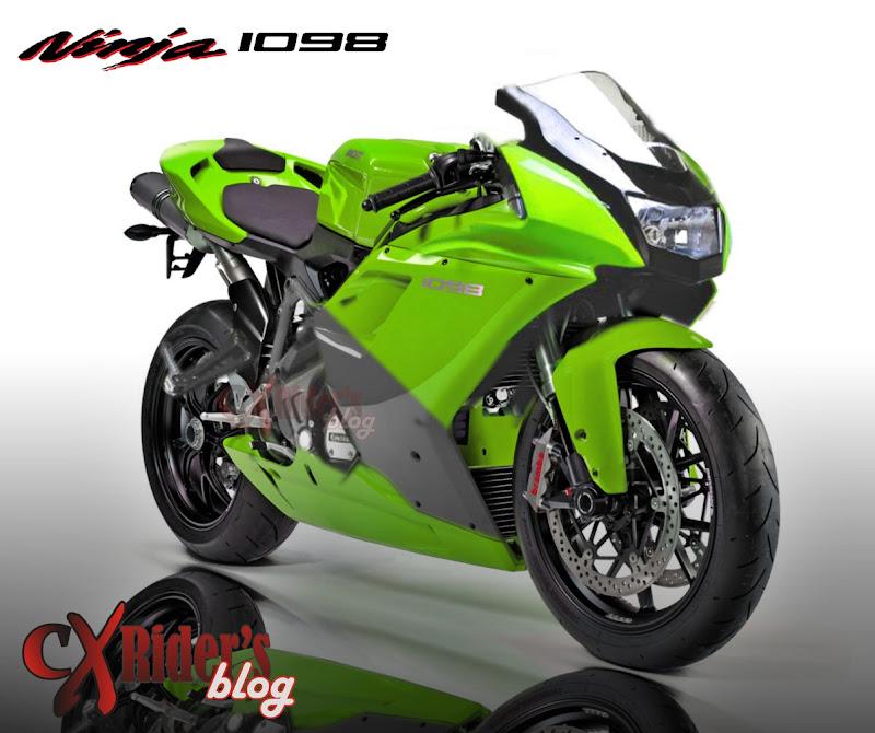 modifikasi ninja 150 rr 2012