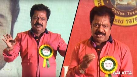 Pandiarajan Semma Comedy Speech | FETNA AWARDS