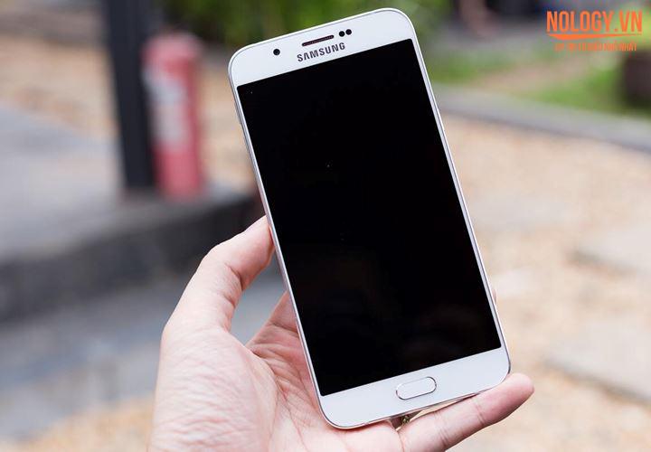 Trên tay chiếc Samsung Galaxy A8 tuyệt phẩm