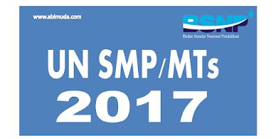 Kisi-kisi Soal UN Bahasa Inggris SMP dan MTs 2017 Lengkap