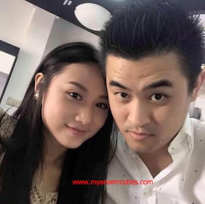 Thinzar Nwe Win & Her Boyfriend