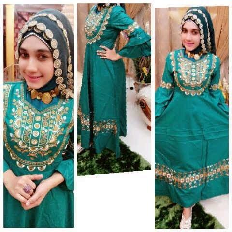 Beragam Pilihan Gamis Muslim Cantik Dengan Harga Murah Berkualitas