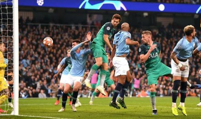 susunan pemain Man City vs Tottenham Hotspur (Laurence Griffiths/Getty Images)