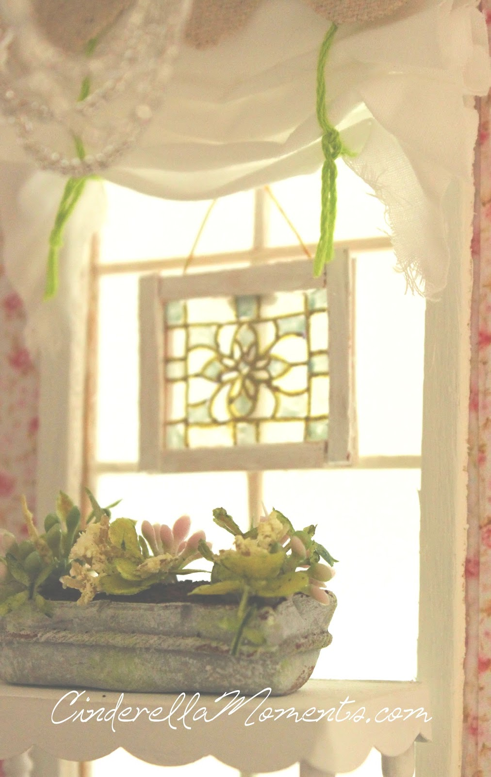 Cinderella Moments Easy Peasy Dollhouse Stained Glass