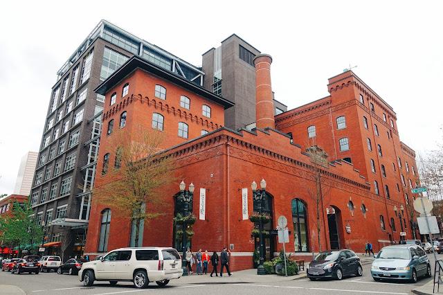 The Henry Weinhard Brewery complex