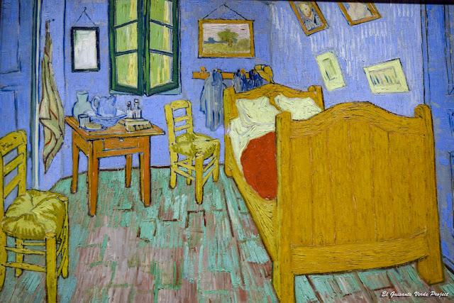 Van Gogh, La Habitación de Arles - Art Institute Chicago por El Guisante Verde Project