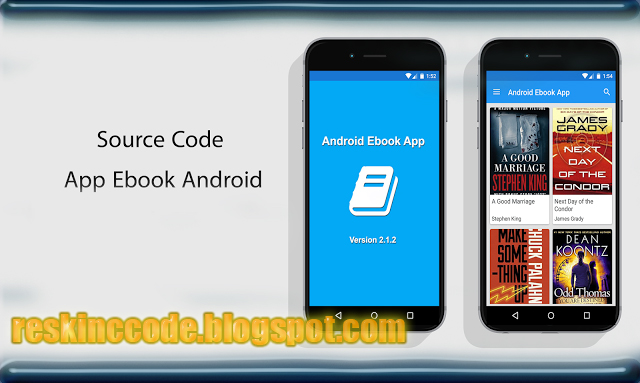 Source Code App Ebook free   ReskinCC