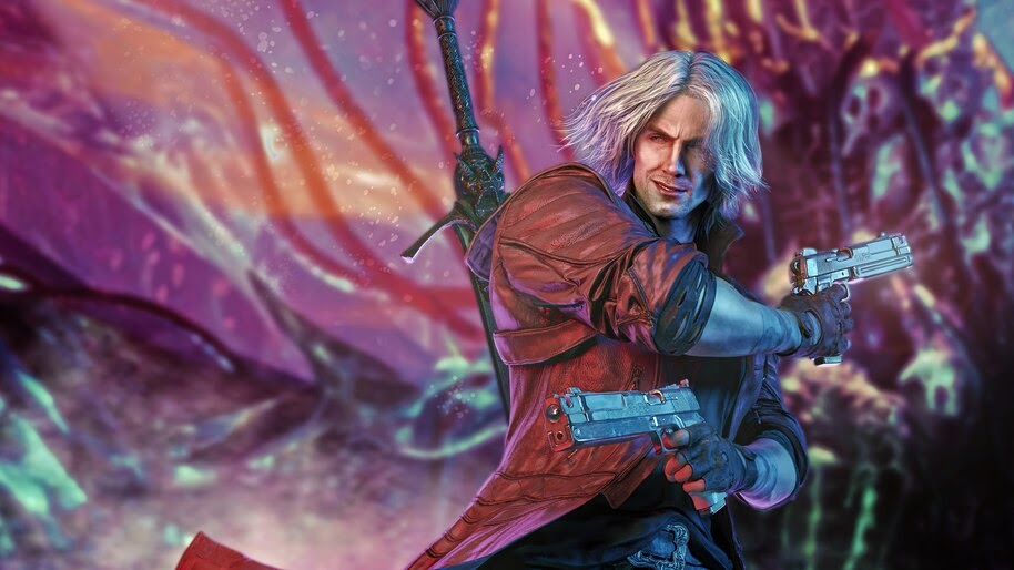 Dante, Pistols, Devil May Cry 5, 4K, #7.2466