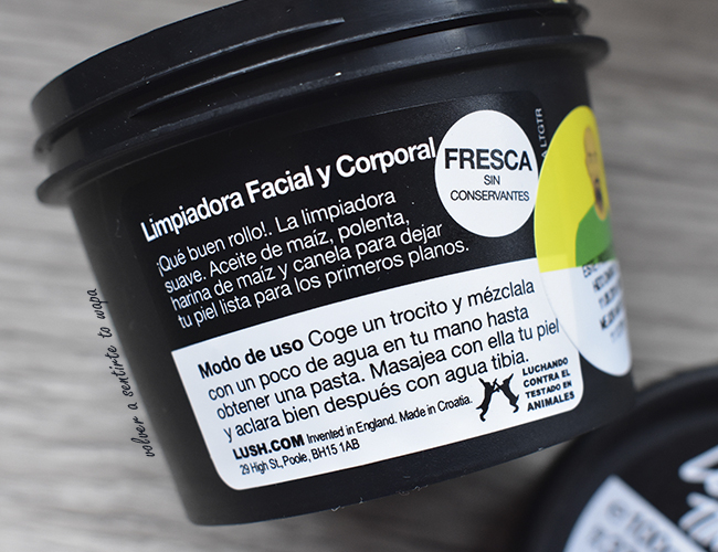 Limpiadora Facial de Lush: Let the Good Times Roll