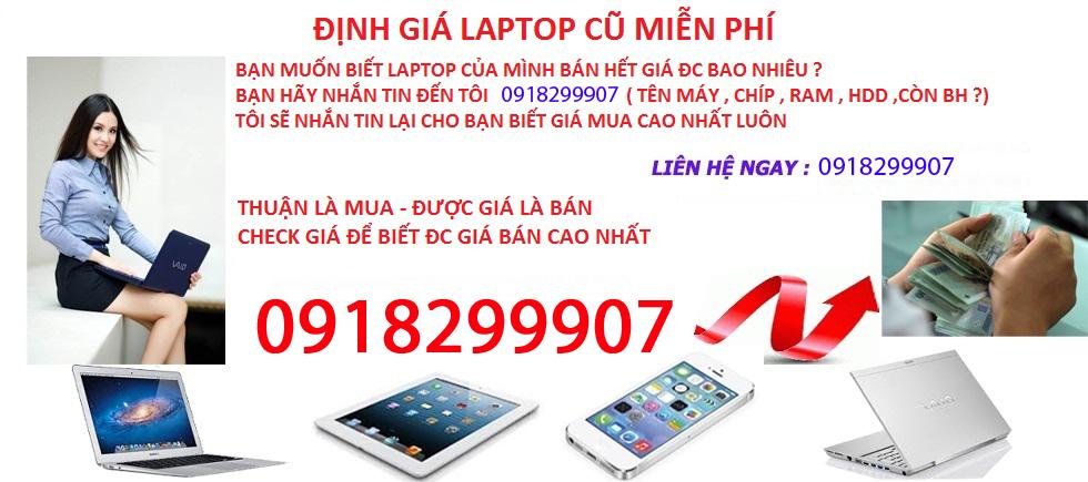 Thu mua laptop cũ giá cao tận nơi chuyên nghiệp tại HCM