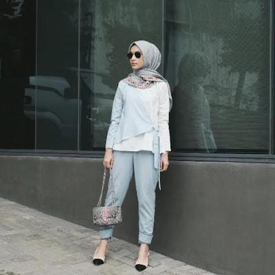 model hijab casual kekinian terbaru