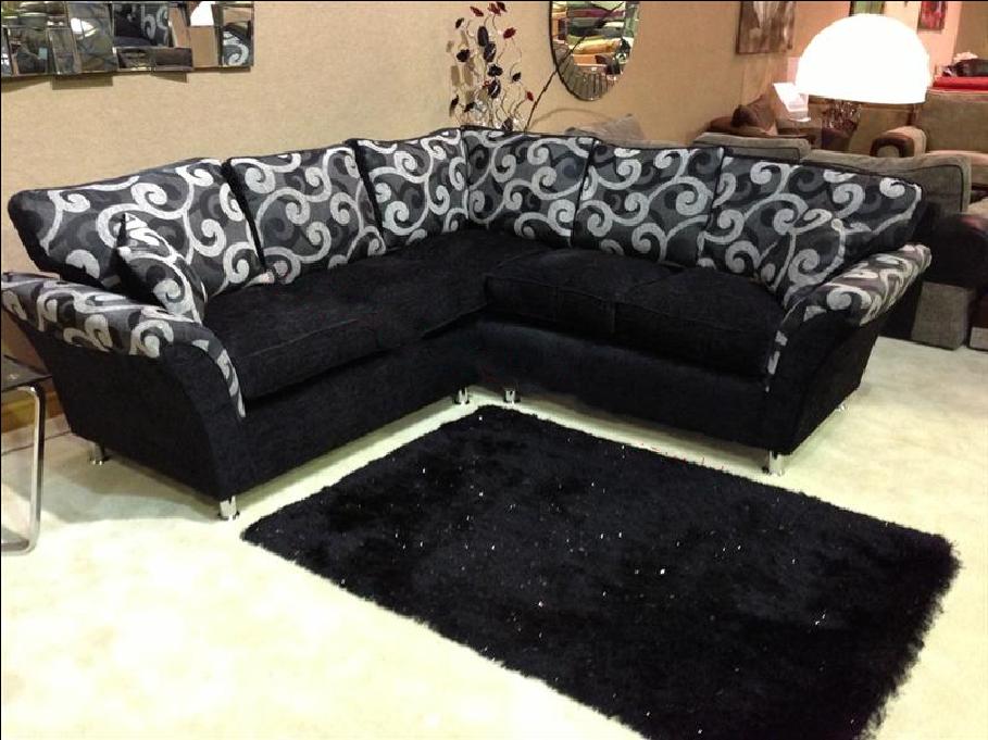 Trade Price Furniture Zina Chenille Fabric Symmetrical
