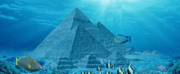 Piramides submarinas