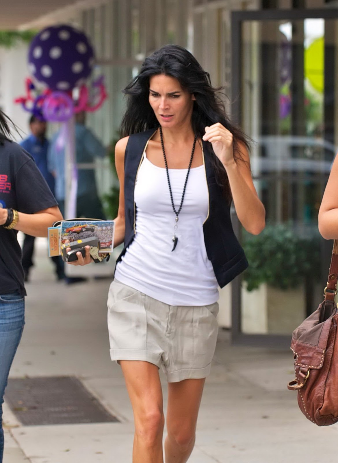 Angie Harmon - Candids in Santa Monica   Just FAB Celebs