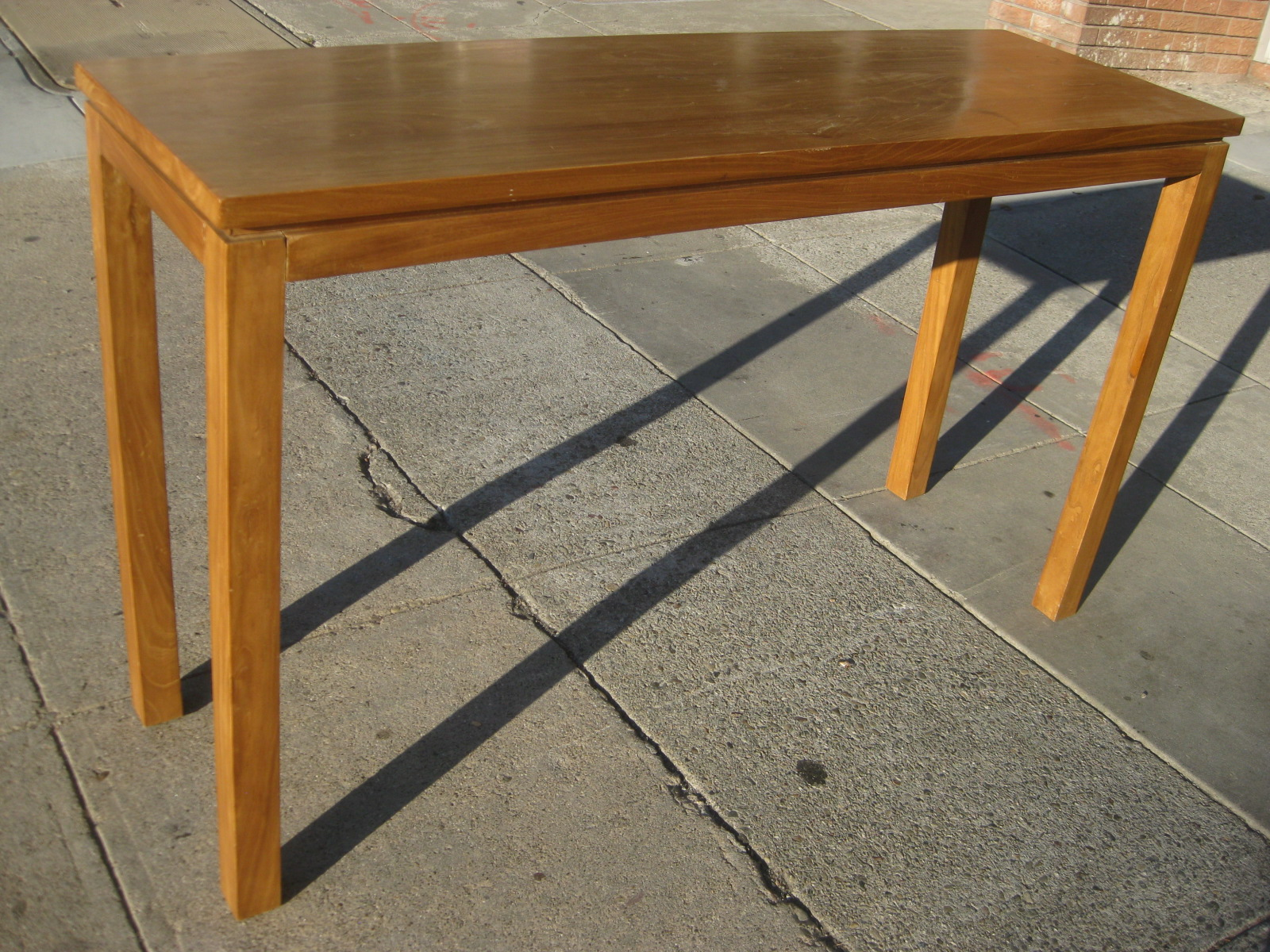 Teak Sofa Table The Leather Co Reviews Uhuru Furniture Collectibles Sold 95