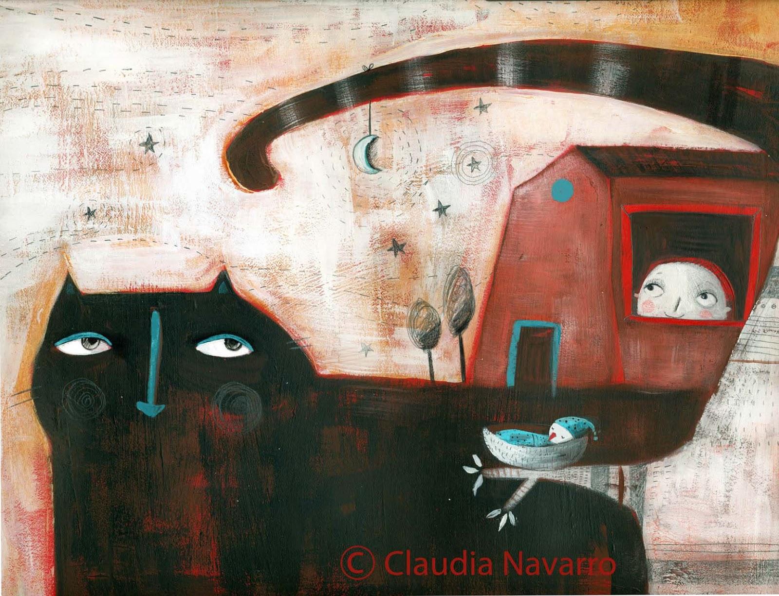 Ilustración de Claudia Navarro