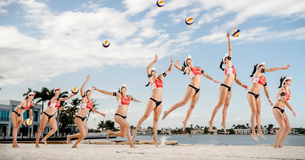 Behind the Scenes | Volleyball Sports Photography | Red Bull Intracoastal Beach Affair