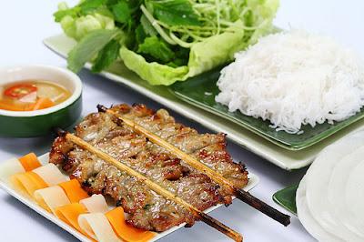 Bun cha, what a smelling of kebab! 3