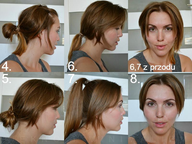 8 Fryzur Dla Odstających Uszu Włosy Proste Z Dłuższą Grzywką