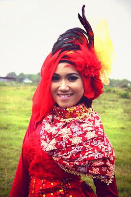 foto hunting hijab tampak belakang tema hunting hijab