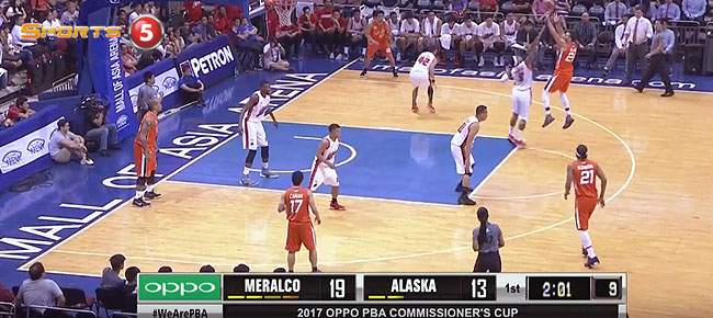 HIGHLIGHTS: Meralco vs. Alaska (VIDEO) April 8