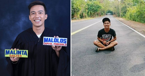 Jeepney driver goes viral for inspiring graduation story
